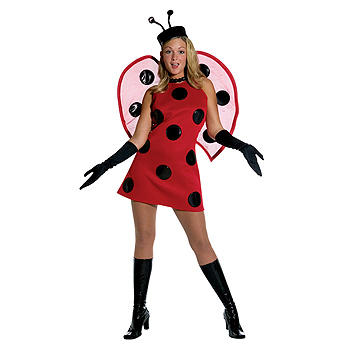 Lady Bug Adult Classic costume idea