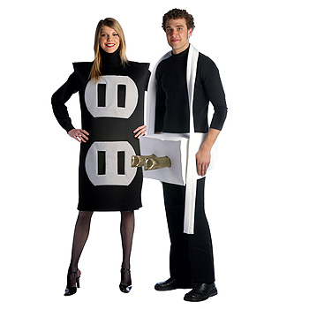Plug and Socket Adult Couples costume idea