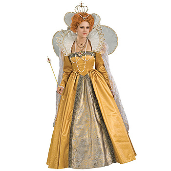 Renaissance Queen Elizabeth Adult Deluxe costume idea