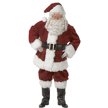 Santa Claus Majestic Adult Deluxe costume idea