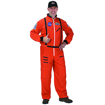 NASA Flight Suit Adult Classic costume idea