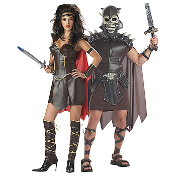 Warrior Queen Couples costume idea
