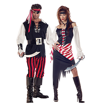 Pirate Adult Couples costume idea