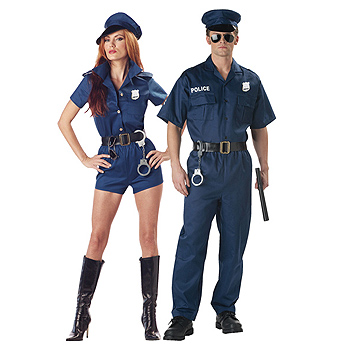 Handcuffs Adult Couples costume idea