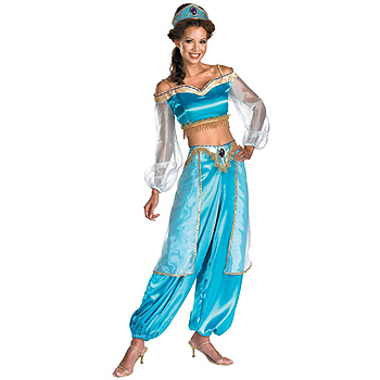 Adult Jasmine of Aladdin Deluxe costume idea