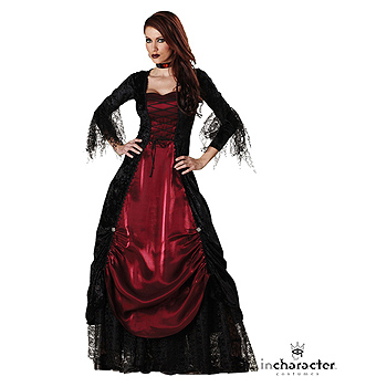 Womens Gothic Vampire Deluxe Adult costume idea