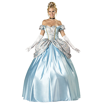 Womens Cinderella Deluxe Adult costume idea