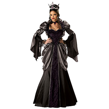 Evil Queen of Snow White Adult Deluxe costume idea