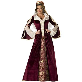 Renaissance Queen Elite Adult costume idea
