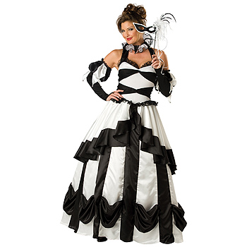 Carnival Queen Adult Deluxe costume idea