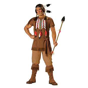 Indian Warrior Adult Classic costume idea