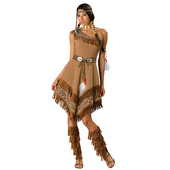 Tiger Lilly Indian Maiden Adult Classic costume idea