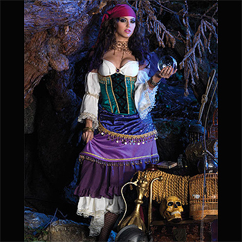 Womens Renaissance Gypsy Adult costume idea