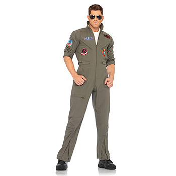 Top Gun Pilot Flight Suit Adult Classic costume idea