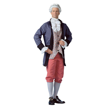Colonial Mens Adult costume idea
