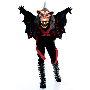 Adult Wizard of Oz Evil Flying Monkey costume idea