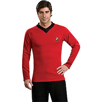 Star Trek Classic Red Adult Deluxe costume idea