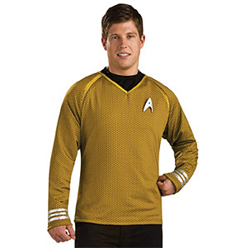 Star Trek Classic Gold Adult Deluxe costume idea