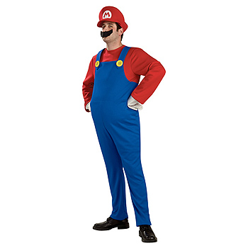Mario Adult Deluxe costume idea