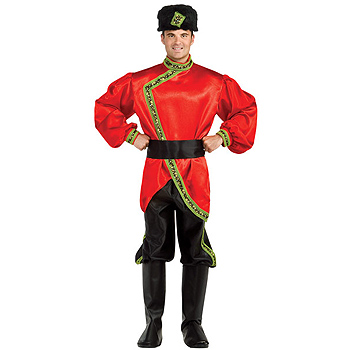 Russian Cossack Palace Guard Adult costume idea