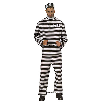 Prisoner Adult Classic costume idea