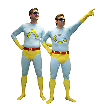 Ambiguously Gay Duo Ace Gary Adult costume idea