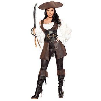 Renaissance Pirate Lady Adult Deluxe costume idea