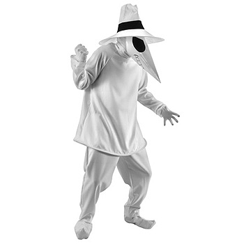 White Spy vs Spy MAD Adult costume idea