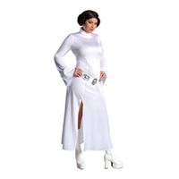 Womens Plus Size Princess Leia Costume