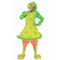 Lilli The Clown Costume For Adults