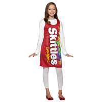 Childrens Skittle Tank Dress Costume
