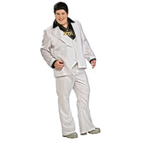 Adult Plus Size Disco Fever Costume