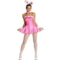 Pink Cocktail Bunny Small Costume