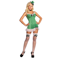 Sexy Patti St. Patrick Costume Adult