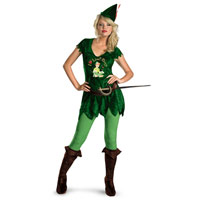 Adult Sassy Disney Peter Pan Costume