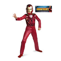Boys Quality Iron Man Mark Vi Costume