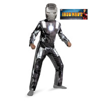 Boys Classic Iron Man 2 War Machine Costume