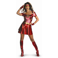 Adult Deluxe Sassy Iron Man 2 Ironette Costume
