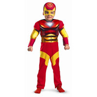Muscle Chest Iron Man Toddler Costume