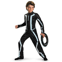 Child Deluxe Disney Tron Legacy Costume