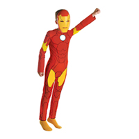 Boys Animated Iron Man Costume