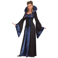 Vampire Satin Dress For Women