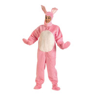 Pink Easter Bunny Suit Costume