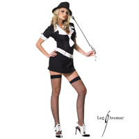 Adult Gangster Chick Costume