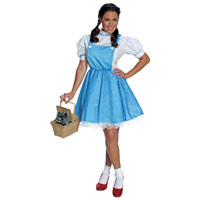 Adult Dorothy Wizard Of Oz (tm) Costume