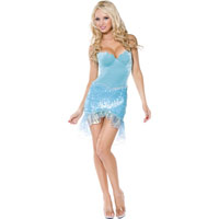 Sexy Little Mermaid Womens Costume