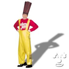 Slim Jim Adult Men's costume idea