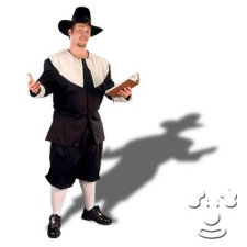 Plus Size Pilgrim costume idea