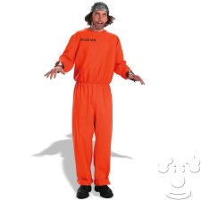Teen Death Row Inmate costume idea