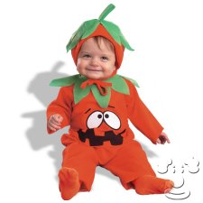 Infant Baby Jack O Lantern costume idea